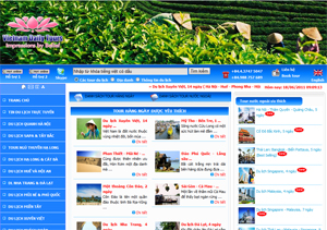 Thiết kế website Cty Du Lịch Việt Nam Daily Tour