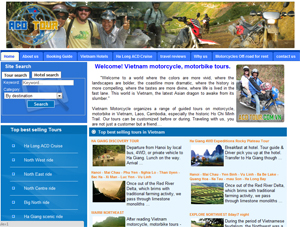 Thiết kế website ACD Tour  Group