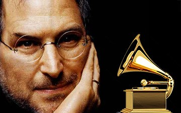 Steve Jobs duoc trao tang giai Grammy cao quy